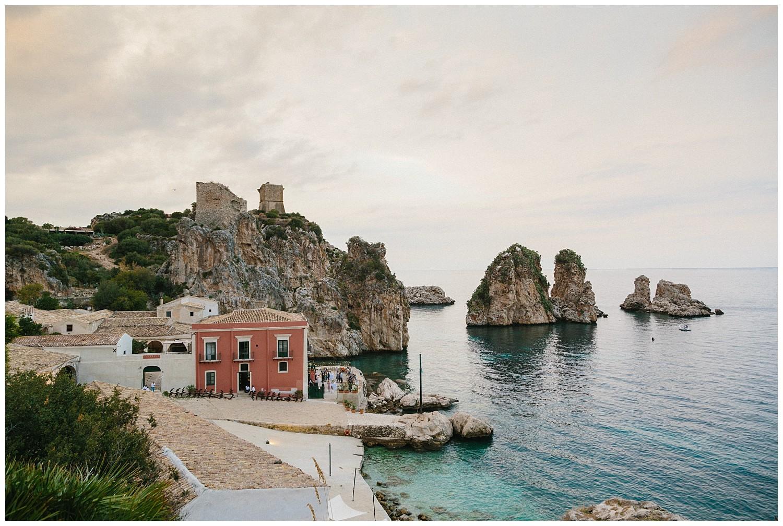 get married at tonnara di scopello sicily