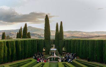 Wedding photographer La Foce Tuscany