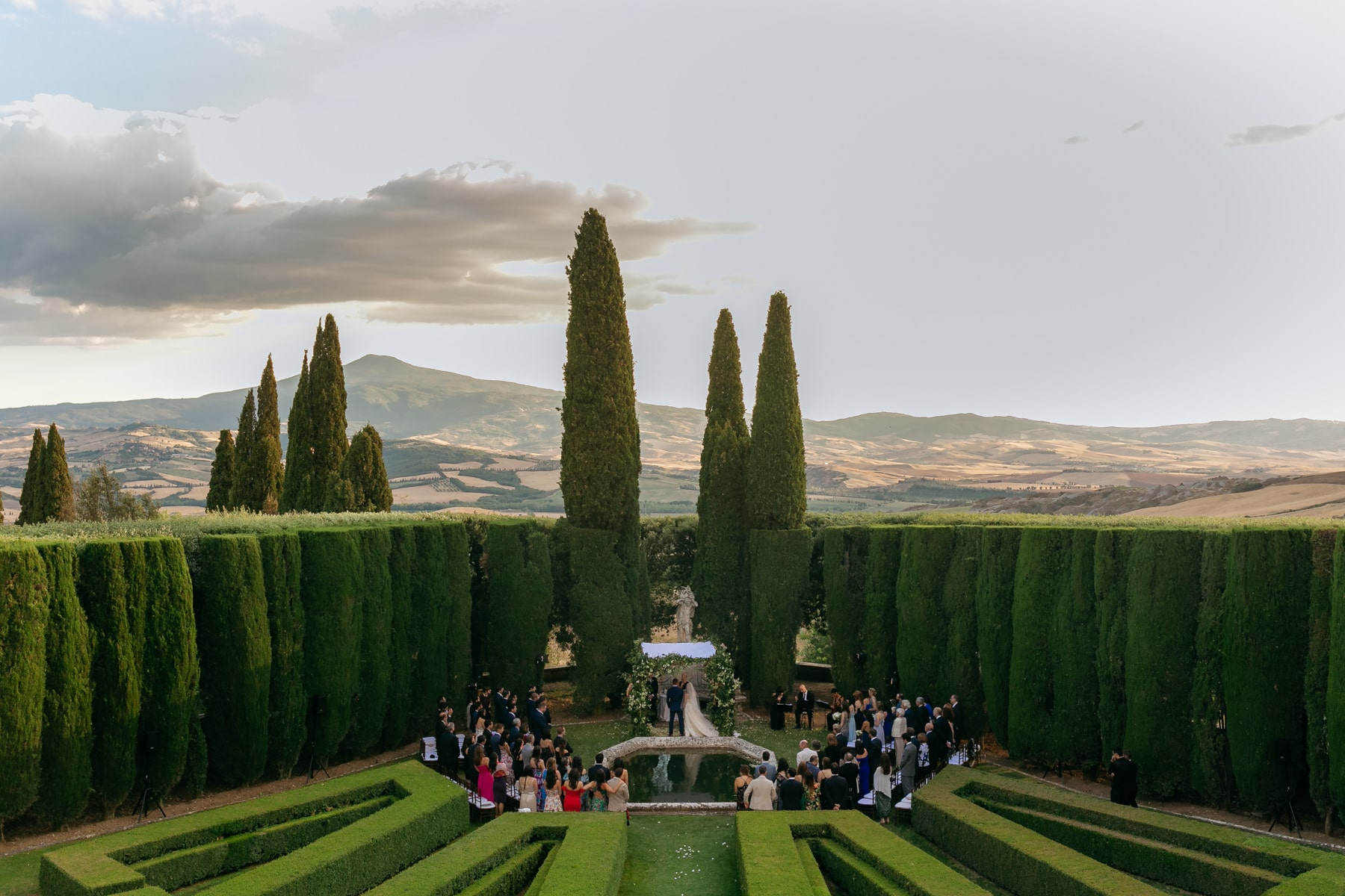 wedding photographer La Foce